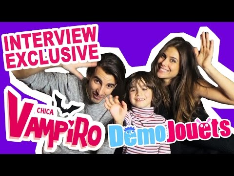Chica Vampiro en français - Interview Exclusive avec Daisy et Max !