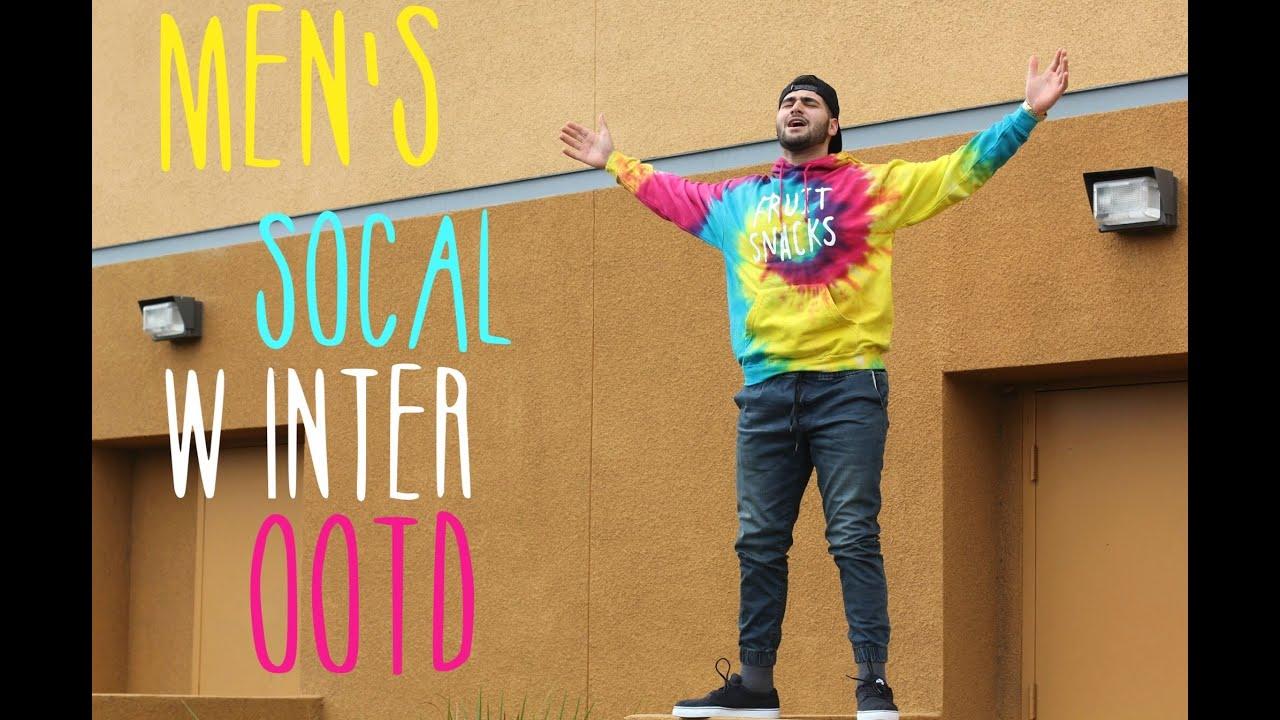 Mens Socal Winter Ootd No  Fruit Snacks Mens Fashion