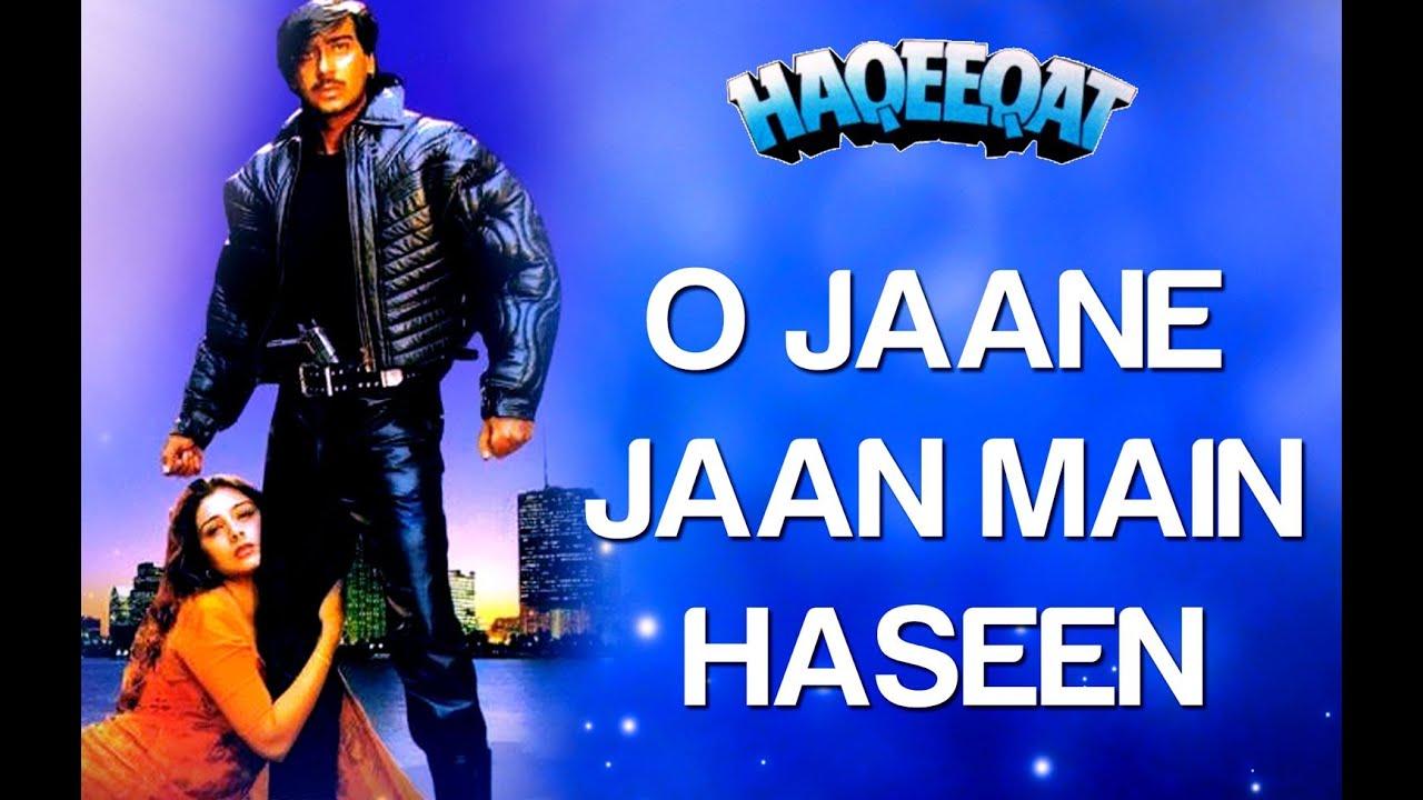 Kumar Sanu Hd Wallpaper O Jaane Jaan Main Haseen Haqeeqat Ajay Devgan Amp Tabu