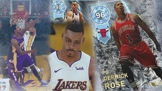 NBA 2K18 My Team - Diamond Derrick Rose, Penny Hardaway Debut! PS4 Pro 4K Gameplay