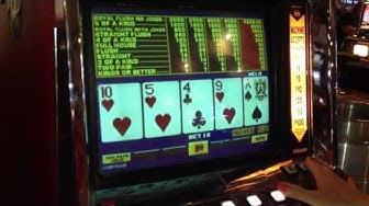 Joker Poker video poker slot machine - 4 of a kind