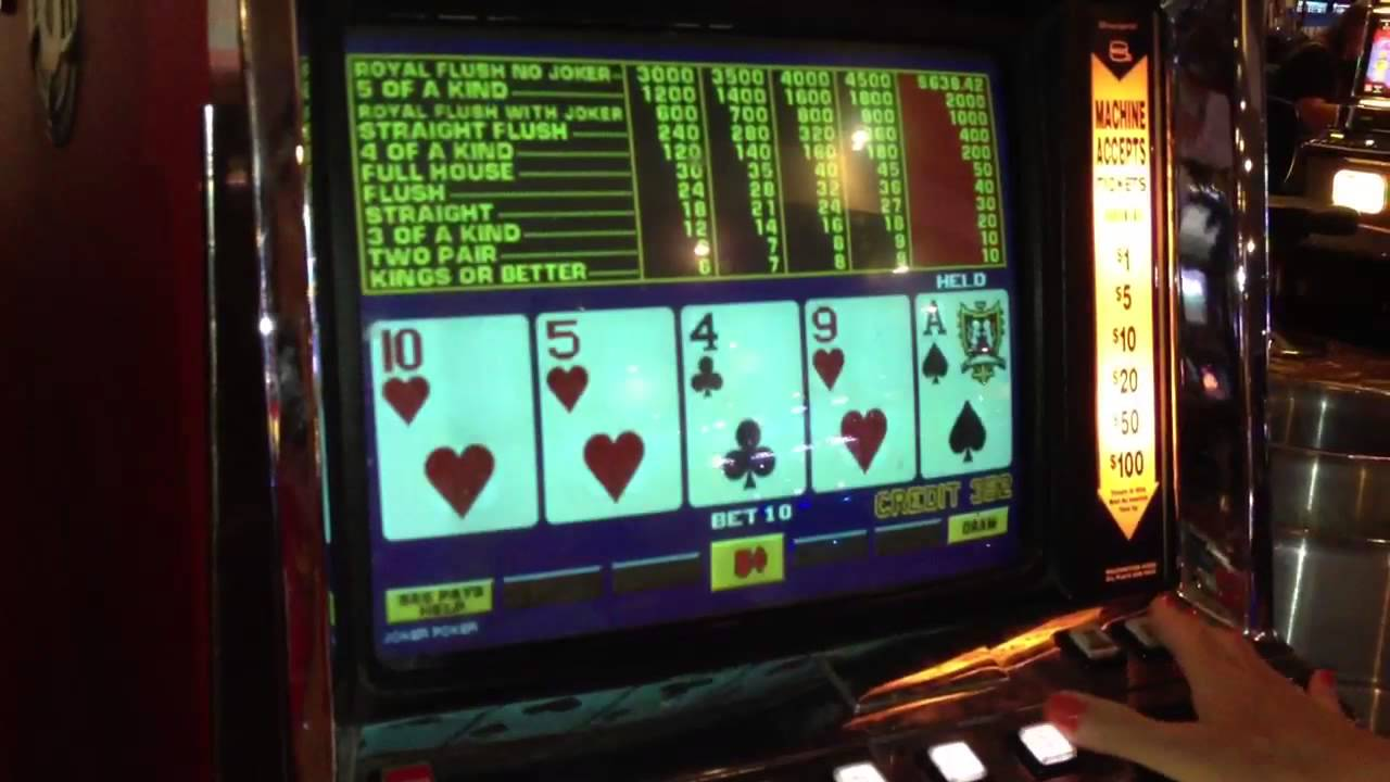 Free joker poker machine games