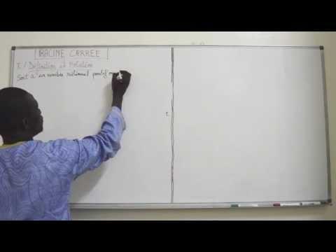 Cours -Troisiéme - Mathématiques : RACINE CARREE 1er Partie