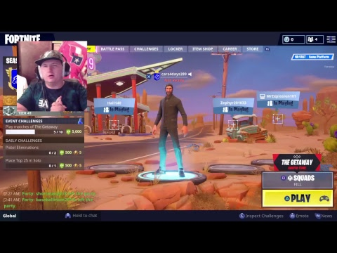 TIME FOR SOME FANTASTIC FORTNITE FUN (Featuring TheAceOfSlays)