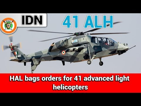 HAL bags orders for 41 advanced light helicopters | India Defence News
