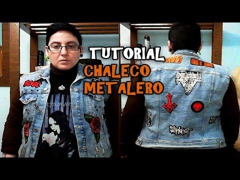 TUTORIAL CHALECO METALERO 🔥💀