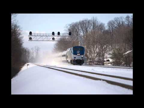 Sony A7ii Continuous AF Test - The Pennsylvanian Train - YouTube