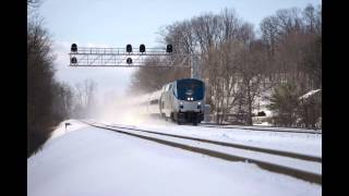 Sony A7ii Continuous AF Test - The Pennsylvanian Train