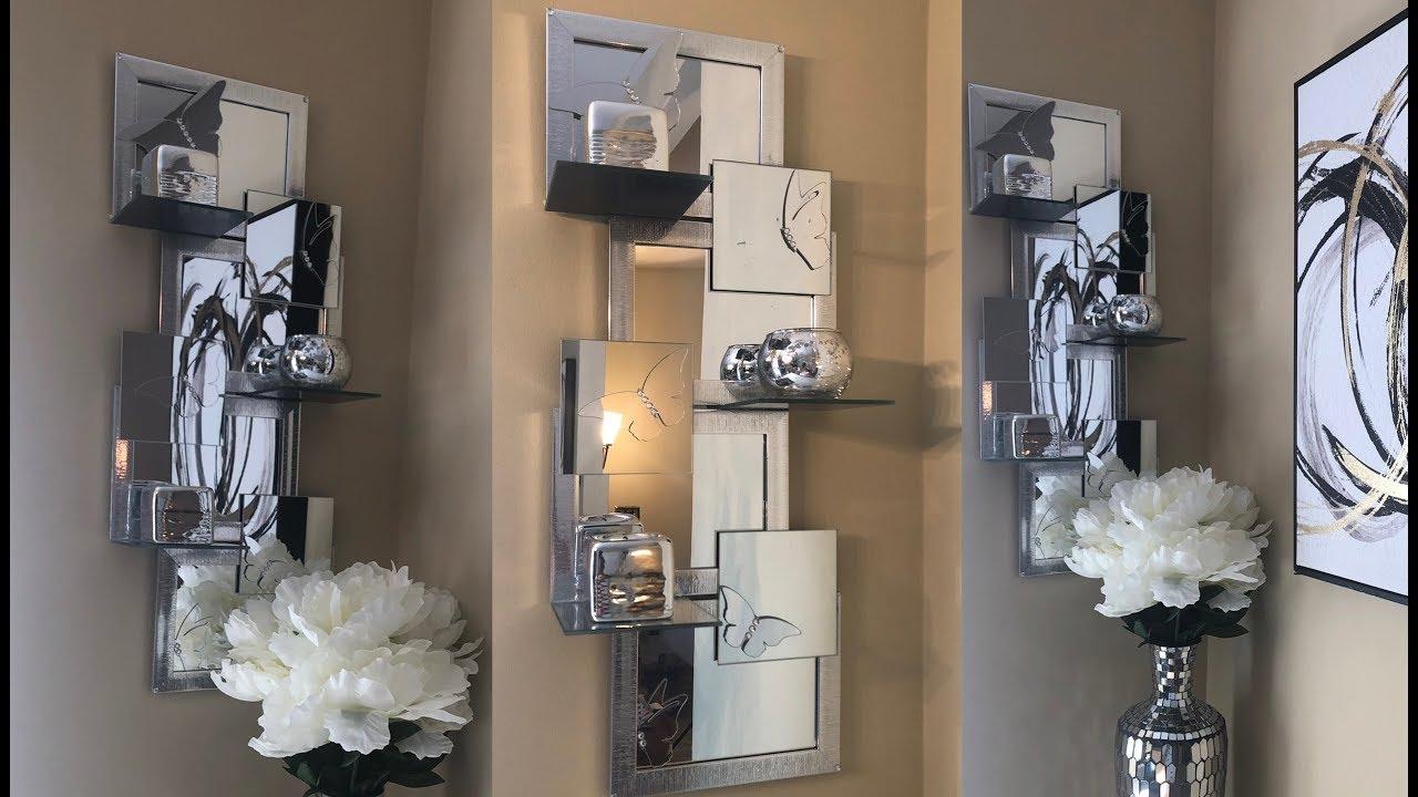 [VIDEO] - Dollar Tree DIY    Mirrored Butterfly Wall Shelf    Decorating Ideas 2019 7