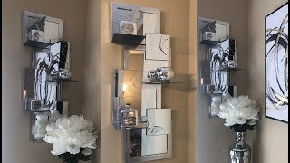 Dollar Tree DIY || 🦋 Mirrored Butterfly Wall Shelf 🦋|| Decorating Ideas 2019