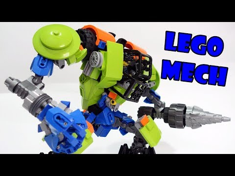 Lego Power Miner Mech Big Daddy!