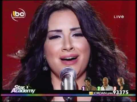 Sarah live 10-06-2011 Star Academy 8  Lebanon