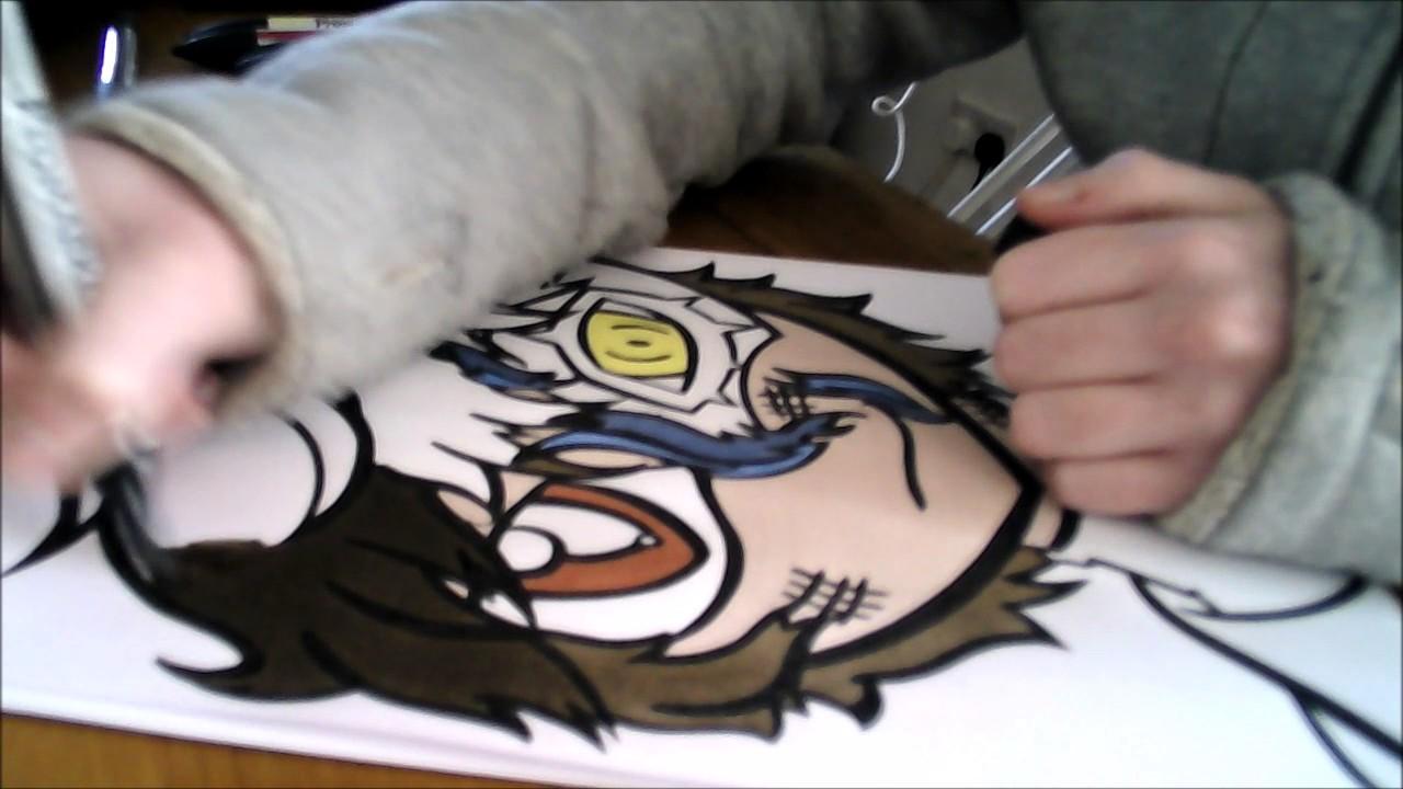 Joker Scribble Drawing : Speedcolour with promarkers persona joker youtube