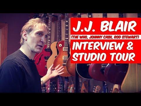 J.J. Blair  Interview and Studio Tour (The Who, Johnny Cash, Rod Stewart) - Warren Huart