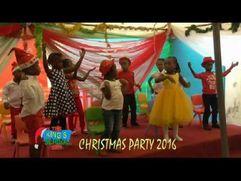 THE KING'S SCHOOL  LAGOS CHRISTMAS PARTY 2016