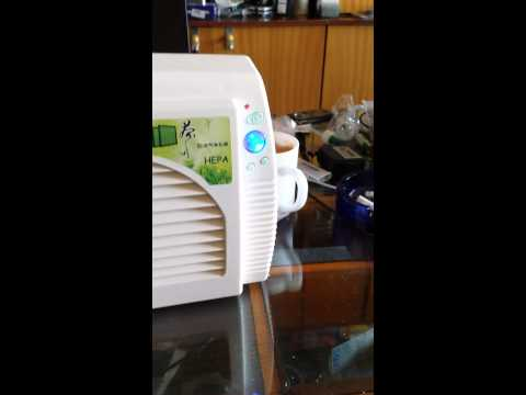 Chinese Airnasa tea fragrant air purifier cleaner oxygen generator bar household office which is off