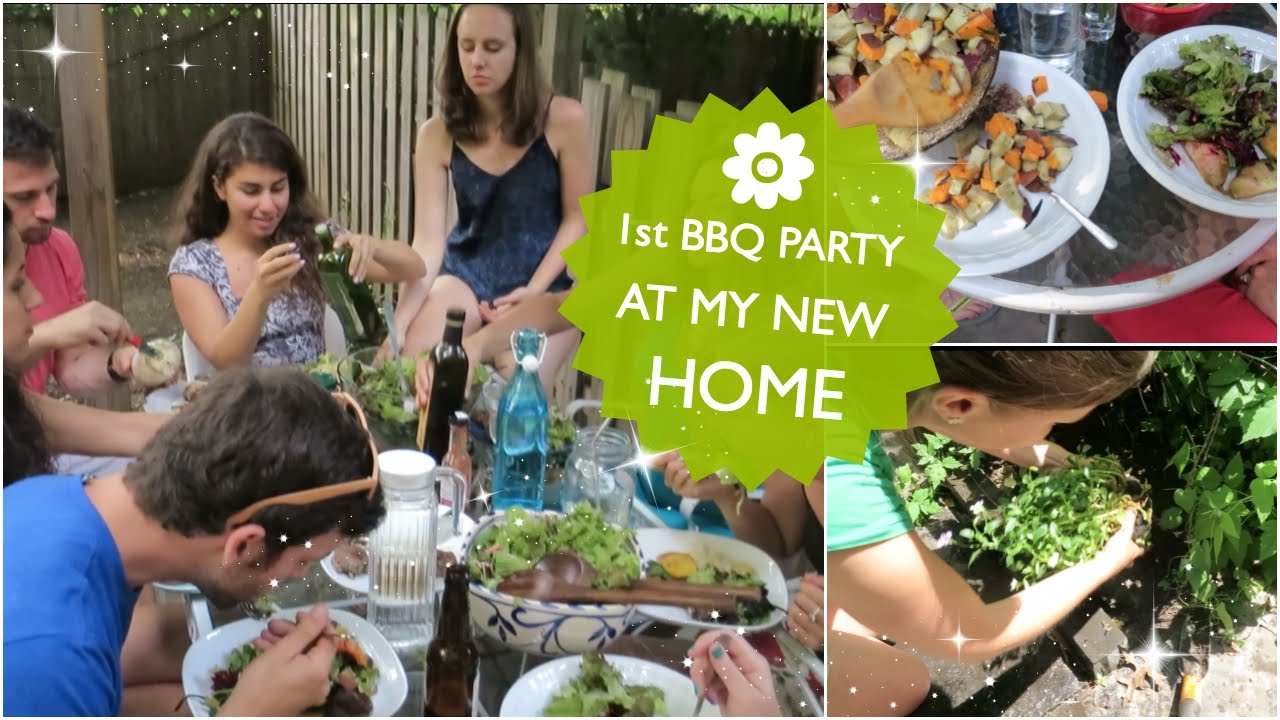 1st bbq party at my new home youtube for My new home