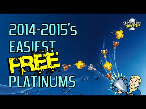 2014-2015's Easiest FREE PS4 Platinums (PS+ Instant Game Collection)
