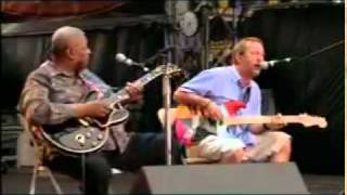 Rock Me Baby-BB KIng, Eric Clapton, Buddy Guy,  Jim Vaughn ao vivo