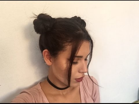 How To Do Space Buns Three Different Ways Youtube