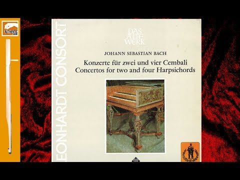 Leonhardt  - Bach : Concertos for two and four Harpsichords (1976)