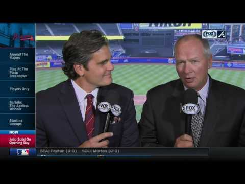 Joe Simpson, Chip Caray on Braves debut of Bartolo Colon