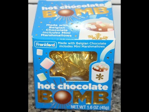 Frankford Hot Chocolate Bomb Review Youtube