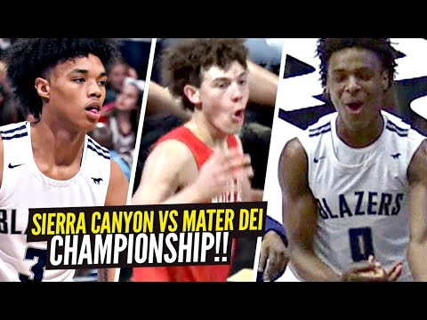 Bronny James and Zaire Wade lead Sierra Canyon to CIF-SS Open Division Title