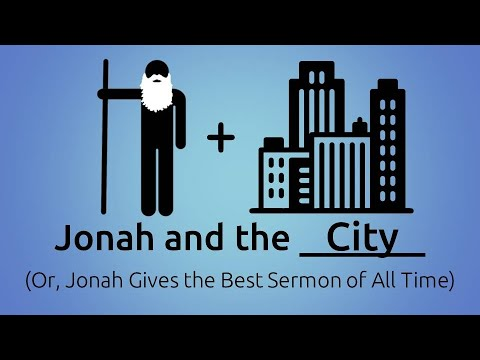 November 17, 2019 (Jonah and the City)