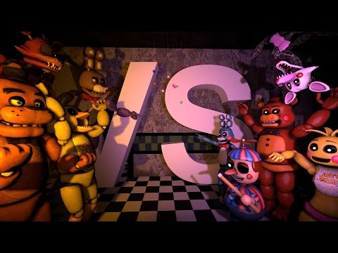 Thumbnail: [SFM/FNAF] Five Funky Night's at Freddy's 2