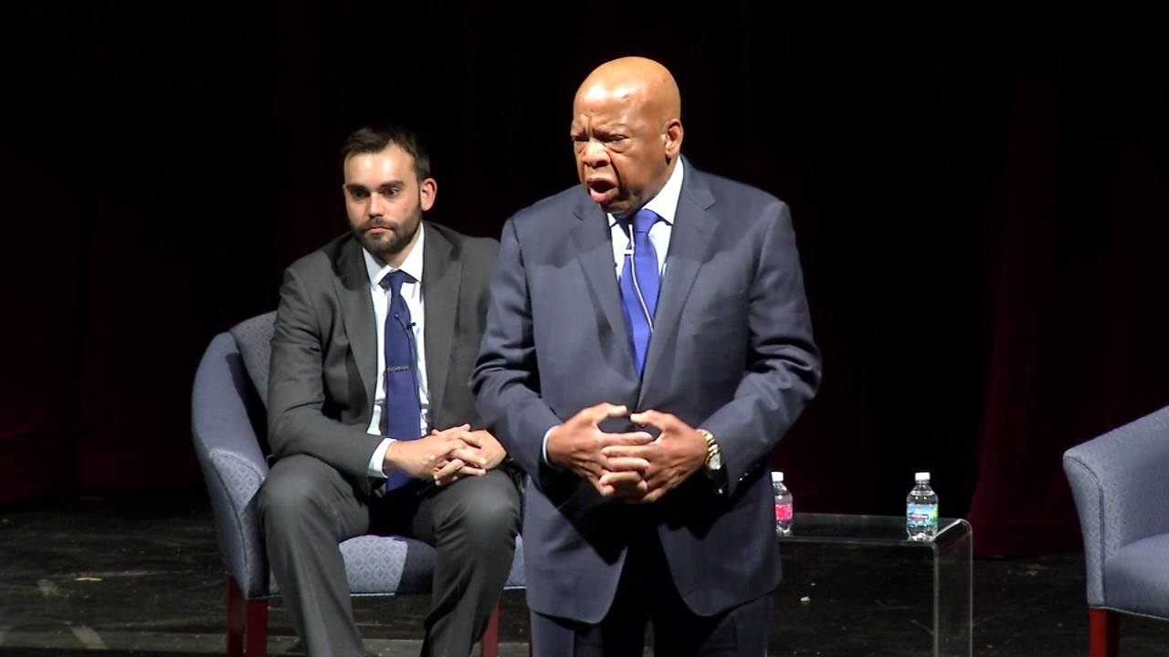 An Evening with Congressman John Lewis and Andrew Aydin