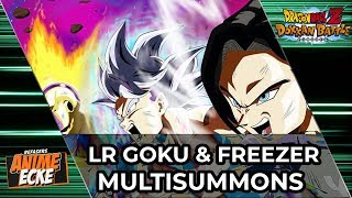 LR Goku und Freezer 200 Steine Multisummons - Dokkan Battle Deutsch
