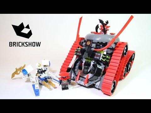 Lego Ninjago 70504 Garmatron Lego Speed Build Youtube