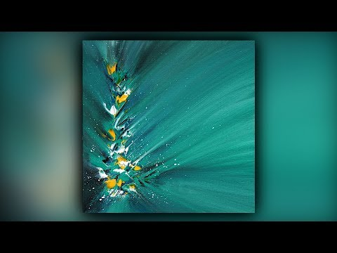 Satisfying Abstract Painting / Acrylics / Palette Knife / Demo #074