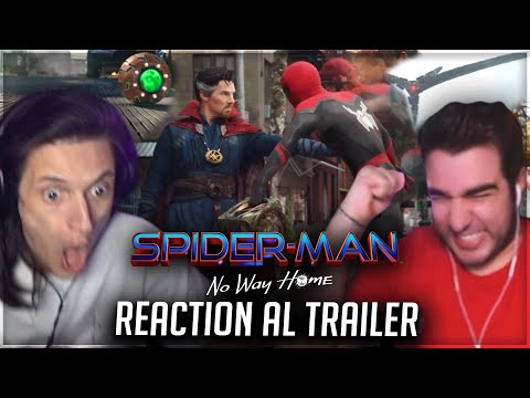 SPIDERMAN NO WAY HOME - Trailer Reaction con Zano