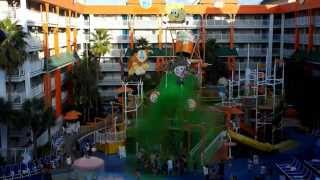 Nick Hotel Mass Sliming at the Lagoon Pool Thumbnail