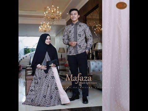 Gamis Batik Couple Terbaru 2018 - Baju Batik Sarimbit 2018 / 2019