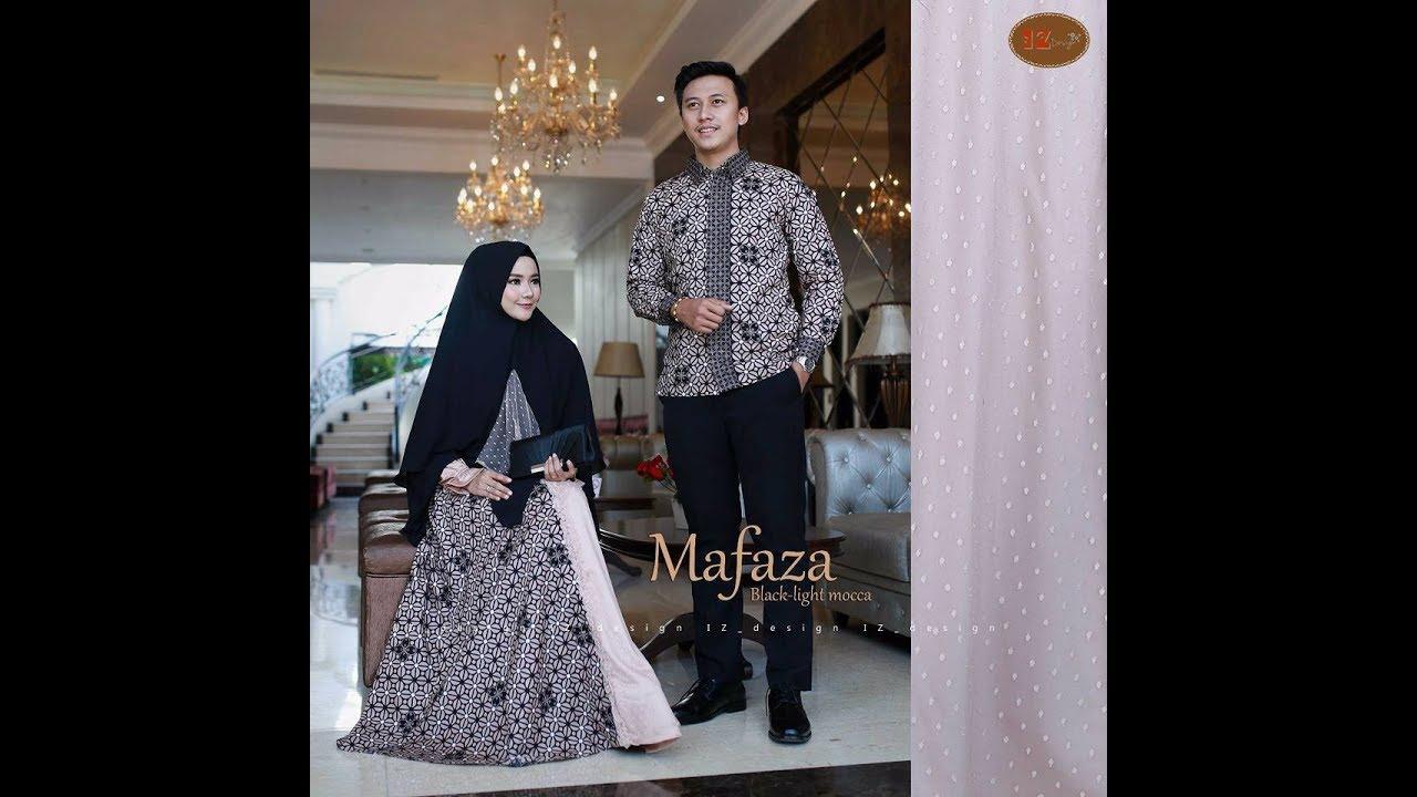 Gamis Batik Couple Terbaru 2018 - Baju Batik Sarimbit 2018   2019 ... eee08ebc9b