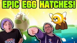 EPIC EGG HATCHES! | Pokemon Ultra Sun and Ultra Moon Egglocke Co-Op Part 4