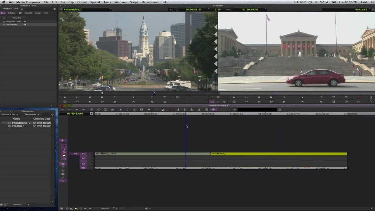 Learn media composer lesson 6: capturing part one: avid media.