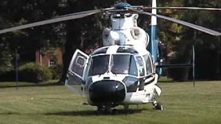 Medical Helicopter Take off in Middletown Ohio.mpeg