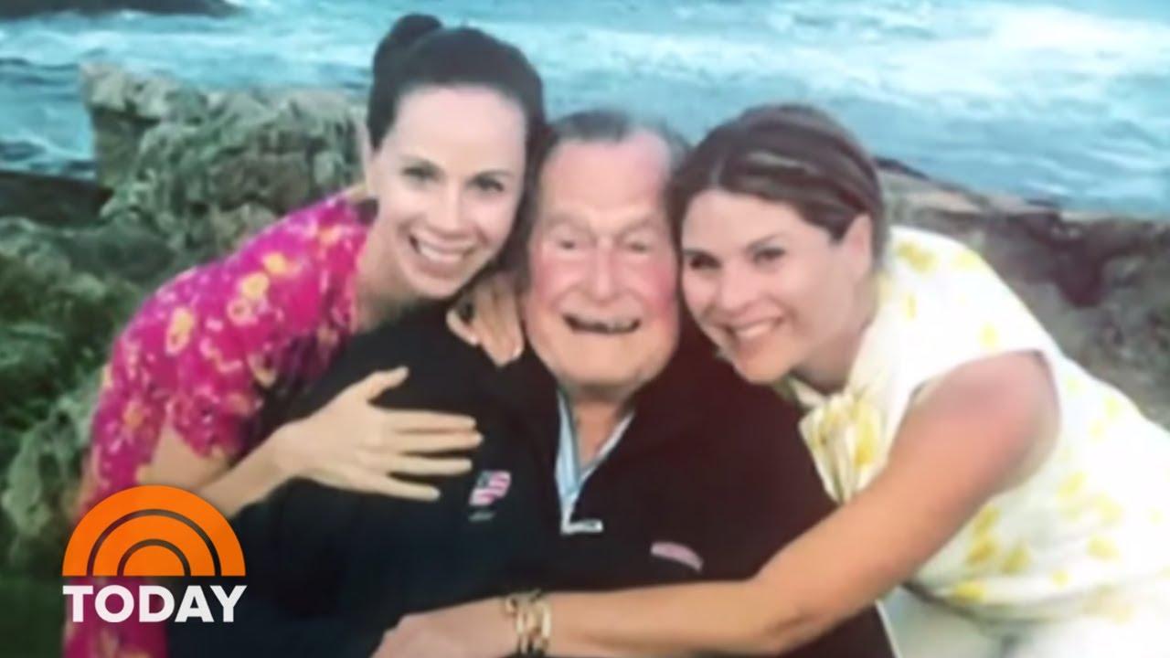 Jenna Bush Hager, Barbara Bush On Favorite Memories Of George H.W. Bush   TODAY