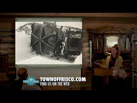 Snow Removal & Avalanche Mitigation on Colorado's Highways   Frisco Museum Lecture Series