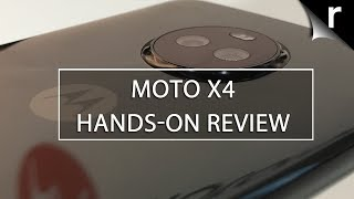 Motorola Moto X4 Hands-on Review: Dual-lens delight