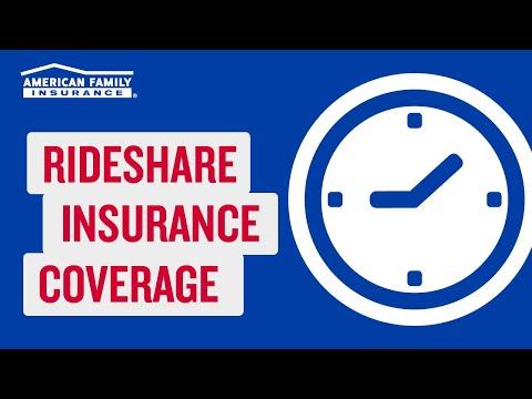 Rideshare Auto Insurance    @AmFam®