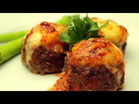 Turkish Stuffed Meatball Recipe Meatballs With Mashed Potato Youtube