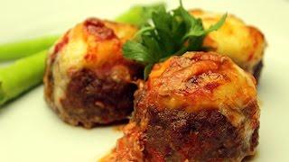 Turkish Stuffed Meatball Recipe - Meatballs With Mashed Potato