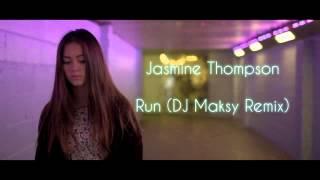Скачать Jasmine Thompson Run DJ Maksy Remix Liquid Drum And Bass