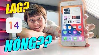 THỬ DÙNG iOS 14 TRÊN iPHONE 6S PLUS VÀ CÁI KẾT - LAG, NÓNG, HAO PIN...
