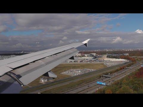 Lufthansa Airbus A319  ✈ FULL FLIGHT Zurich to Frankfurt Airport
